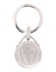 Brunello Cucinelli Small Leather Goods Key Rings Men Silver