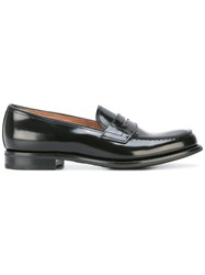 Church's Patent Penny Loafers Black