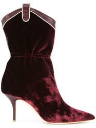Malone Souliers By Roy Luwolt Daisy Boots Red