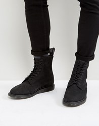Dr. Martens Dr Whitton 8 Eye Wedge Boots Black
