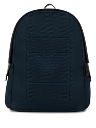 Emporio Armani Neoprane Backpack Blue