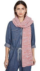 Rebecca Minkoff Marled Scarf Light Blue