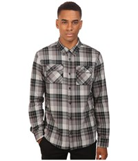 Fox Traildust Long Sleeve Flannel Black Vintage Men's Clothing