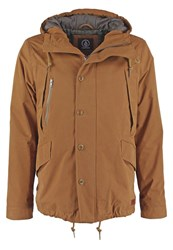 Volcom Slamcode Update Winter Jacket Mud Grey
