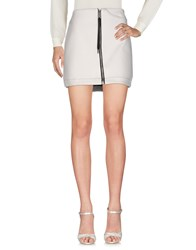 Alyx Mini Skirts Light Grey