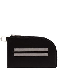 Rick Owens Two Stripe Cardholder Black