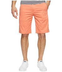 Publish Kamron Twill Shorts Salmon Men's Shorts Orange
