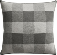 Cb2 Victor 18 Pillow With Feather Down Insert.