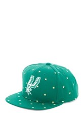 Mitchell And Ness Spurs Starry Night Glow In The Dark Snapback Black