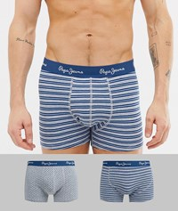 Pepe Jeans Trunk 2 Pack Multi
