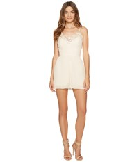 Keepsake All Time High Playsuit Nude Women's Jumpsuit And Rompers One Piece Beige