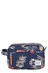 Herschel Supply Co. Chapter Travel Kit Peacoat Floria Blue