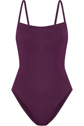Eres Les Essentiels Aquarelle Swimsuit Grape
