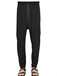 Isabel Benenato Stretch Viscose Knit Jogging Pants