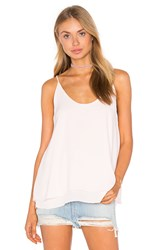 Krisa Double Layer Cami Pink