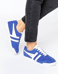 Gola Classic Harrier Trainers In Blue Blue