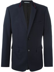 Christian Dior Homme Two Button Blazer Blue