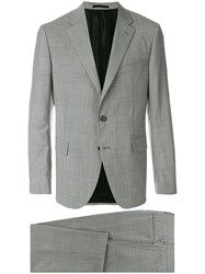 Versace Formal Two Piece Suit Grey