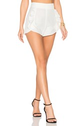 Alice Mccall Proud Mary Shorts White