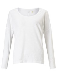 John Lewis Collection Weekend By Drop Sleeve Top White