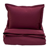 Gant Sateen Duvet Cover Purple Fig Double