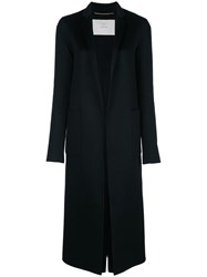 Adam By Adam Lippes Tailored Single Breasted Coat Black