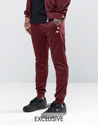 Ellesse Joggers With Zips Burg Red