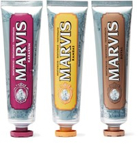 Marvis Wonders Of The World Collection Toothpaste Gift Set 3 X 75Ml Colorless