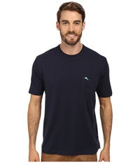 Tommy Bahama New Bali Sky Tee Blue Note Men's Short Sleeve Pullover Navy