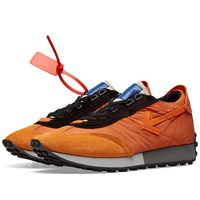 Off White Vintage Arrow Running Sneaker Orange