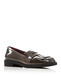 Marc By Marc Jacobs Wooster Kiltie Loafers Gray
