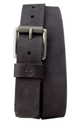 Timberland 'S Leather Belt Black