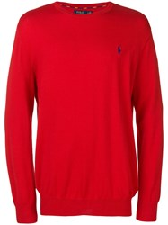 Polo Ralph Lauren Classic Pullover Red