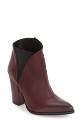 Charles David Women's 'Charla' Bootie Bordeaux Leather