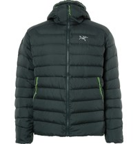 Arc'teryx Thorium Ar Quilted Hell Down Jacket Green