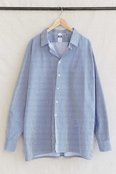 Urban Renewal Vintage Striped Button Down Tunic Top Assorted
