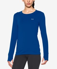 Under Armour Heatgear Long Sleeve Top Royal