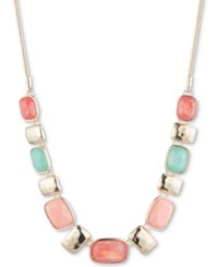 Nine West Multi Stone Statement Necklace 16 3 Extender
