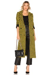 House Of Harlow X Revolve Perry Coat Yellow