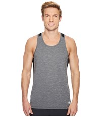 Asics Run Singlet Dark Grey Heather Sleeveless Gray