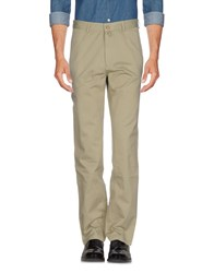 Lacoste Casual Pants Military Green