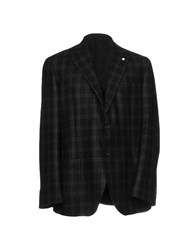 Luigi Bianchi Mantova Suits And Jackets Blazers Steel Grey