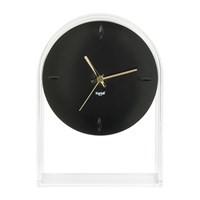 Kartell Air Du Temps Clock Crystal Black
