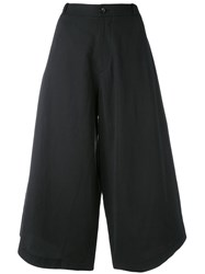 Societe Anonyme Summer Cropped Trousers Black