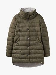 Joules Wroxham Reversible Puffer Jacket Grape Leaf