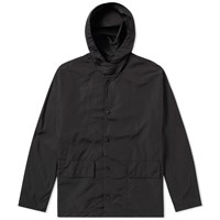Our Legacy Tech Hooded Fly Jacket Black