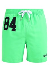 Superdry Swimming Shorts Palm Green