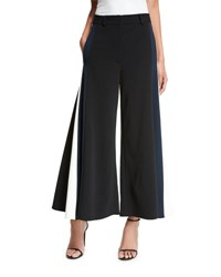 Peter Pilotto Pleated Side Strap Culottes Black
