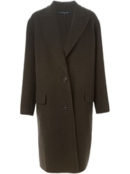 Sofie D'hoore Single Breasted Coat Green
