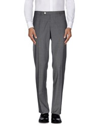Royal Hem Trousers Casual Trousers Men Grey
